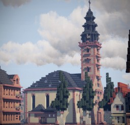 Johanneskirche, Hanau, Hesse, Germany Minecraft Map & Project