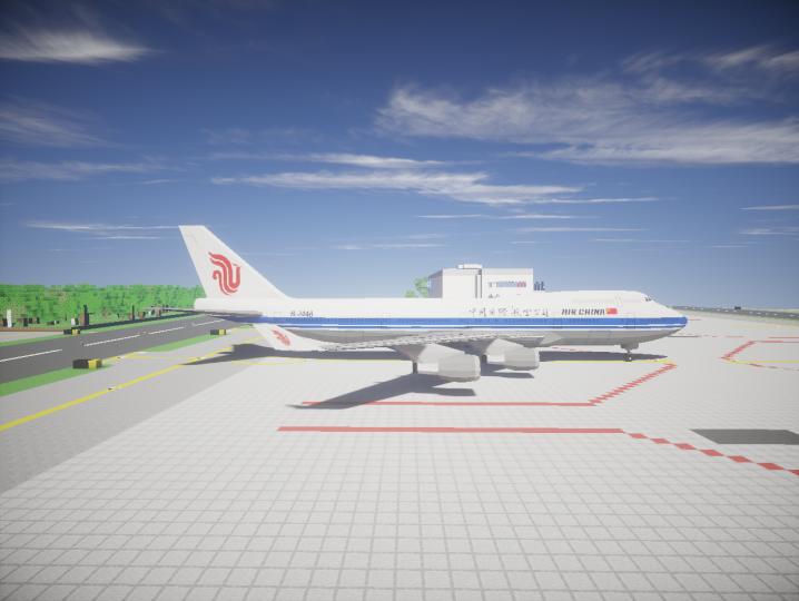 AIR CHINA's B747-400