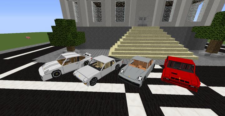 Porsches added in update 2.3