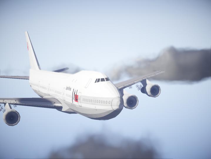 Boeing 747-200B JapanAirlines
