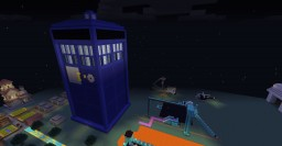 Giant TARDIS - 24:1 Scale Minecraft Map & Project