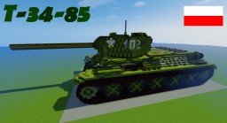 T-34-85 RUDY Minecraft Map & Project