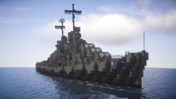 USS Juneau (1:1 scale) Minecraft Map & Project