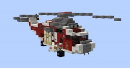 Sea King Helicopter Minecraft Map & Project