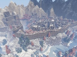 Borealis - Frozen City of the North. Minecraft Map & Project