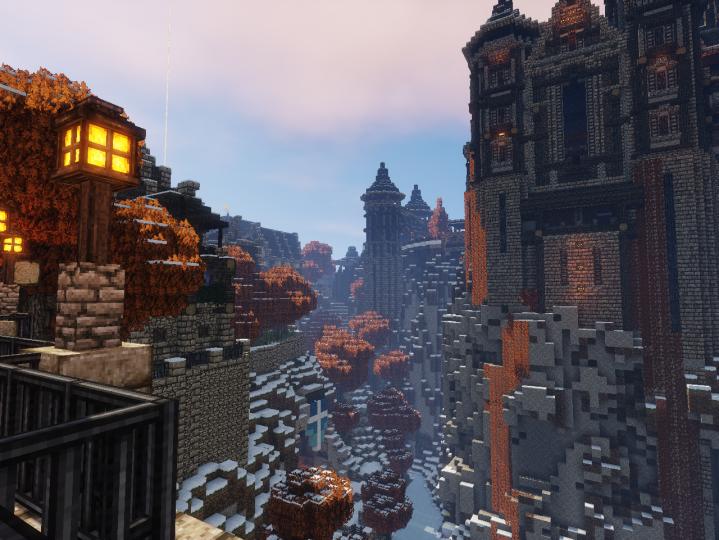 City valley.