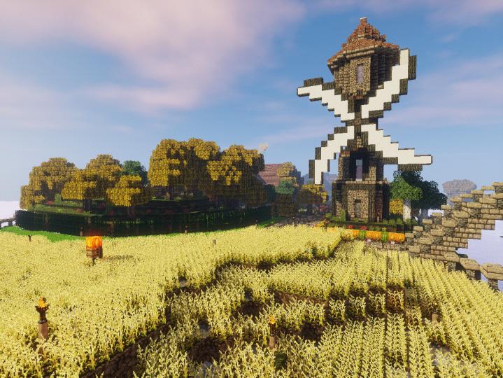 Farming district.