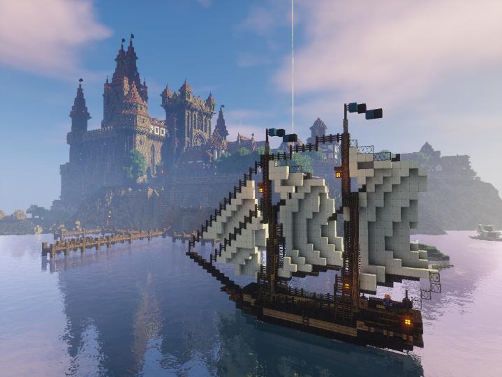 City docks.