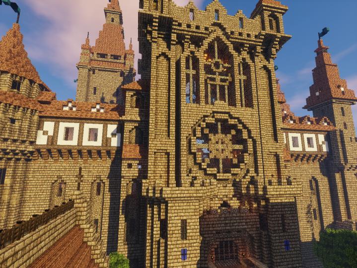 Castle front.