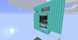 Diamond Skyship - Extreme Complexity Minecraft Map & Project