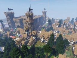City of Moonhollow Minecraft Map & Project