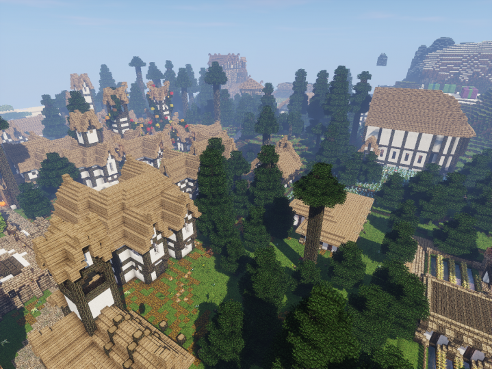 Residential district.