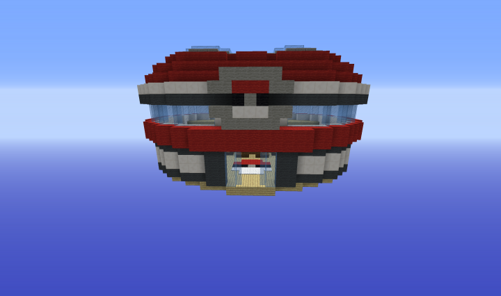 Front view without shaders.