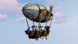 Steampunk Cargo Ship Minecraft Map & Project