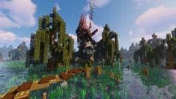 Unique Witch Hut Minecraft Map & Project