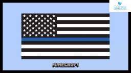 POLICE THIN BLUE LINE AMERICAN FLAG [Minecraft] Minecraft Blog