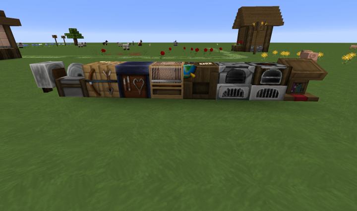 The new blocks