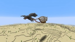 Toaga Skyship Minecraft Map & Project