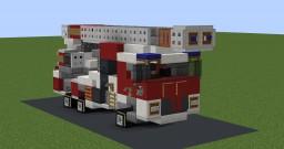 Aerial ladder | Drehleiter Minecraft Map & Project