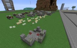 Tanks and Jeeps Minecraft Map & Project