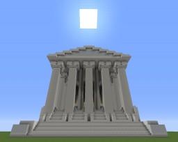 Greek-Turkish Parthenon with improvised interior Minecraft Map & Project