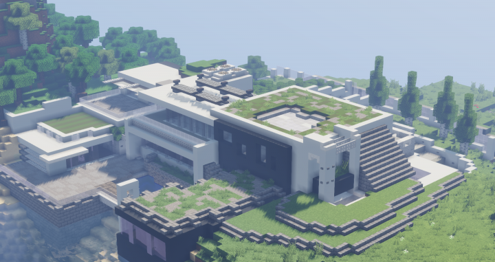 Maison moderne Minecraft Project
