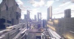 future city Minecraft Map & Project