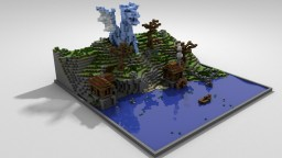 Dragon Attacking Minecraft Map & Project