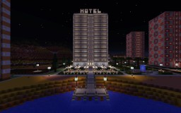 Canyon Hotel Minecraft Map & Project