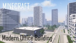 Modern Office Building 6/Skyscraper (full interior) Minecraft Map & Project