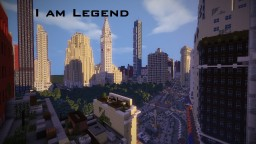 I am legend Manhattan Minecraft Map & Project