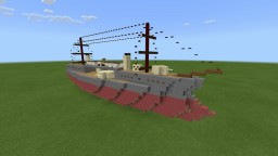 CSS Havana 1:2 scale | fictional ironclad battleship Minecraft Map & Project