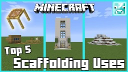 Scaffolding Top Uses Minecraft Map & Project