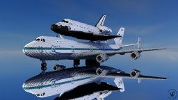 """NASA N905NA """"Shuttle Carrier Aircraft"""" (4:1) Minecraft Map & Project"""
