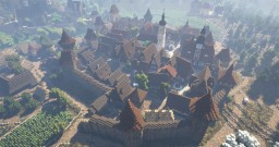 Rich Medieval Town [Conquest Reforged] Minecraft Map & Project
