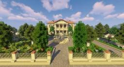 Sandstone mansion Minecraft Map & Project