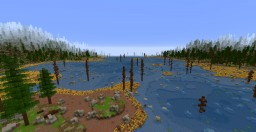 The Hope Lands, Boreal Bog, creative map. Minecraft Map & Project