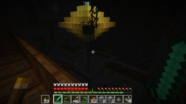 Load your own custom dungeon somewhere random in your world, for you to break into by chance discovery!