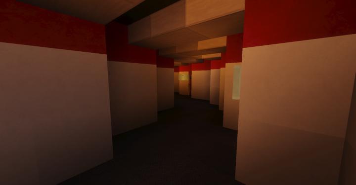 Hallway. Again, very TOS
