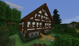 The Royal Inn Stables - A Tudor Style Barn and Stables project (Created in 1.13, Works in 1.14) Minecraft Map & Project