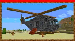 my helicopter Minecraft Map & Project