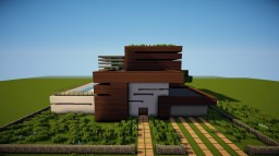 Modern House 8 Minecraft Map & Project