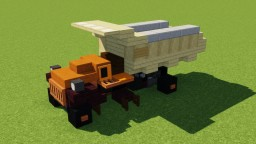 Mack AP Dump Truck Minecraft Map & Project