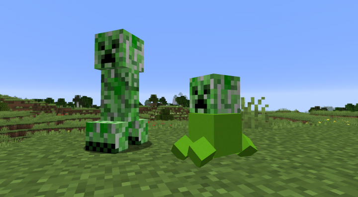 Baby Creepers Minecraft Data Pack