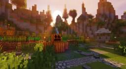 "Epic Minecraft Spawn/Lobby/Hub ""Moutain Farmland"" [1.12.x] Minecraft Map & Project"