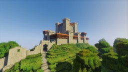 Medieval Spanish Town Minecraft Map & Project