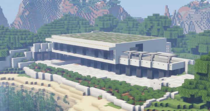 Maison Moderne Minecraft Map