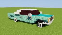 Cadillac Sedan DeVille Minecraft Map & Project