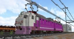 Electric locomotive ChS7 (ЧС7) Minecraft Map & Project