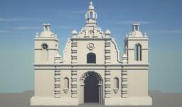 Iglesia de San Juan Evangelista, Opico, El Salvador Minecraft Map & Project